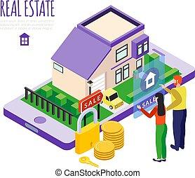 セール, 実質, 構成, 財産