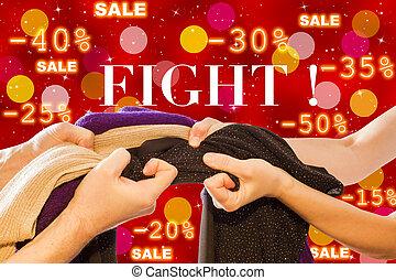 セール, 戦い