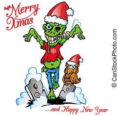 ゾンビ, クリスマス