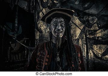 ゾンビ, 海賊, 人