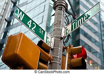 タイムズスクエア, ニューヨーク