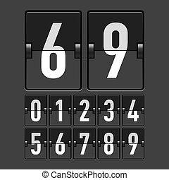 タイムテーブル, 数, 機械