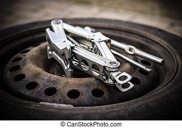 タイヤ, 変化する