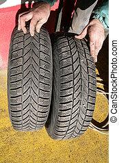 タイヤ, tyre, 変化しなさい