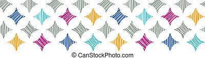 タイル, カラフルである, パターン, seamless, 背景, textured, 横, ボーダー, 大理石