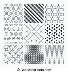タイル, 型, 装飾, ルード, textures.