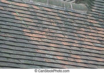 タイル, 屋根