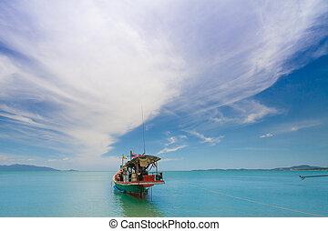 タイ人, moter, ボート