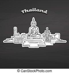 タイ, ランドマーク, 黒板