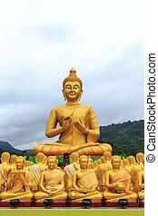 タイ, 仏, 像, 光景