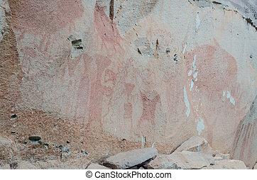 タイ, 古代, 洞穴の絵