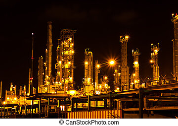 タイ, 植物, 石油化学, 夜