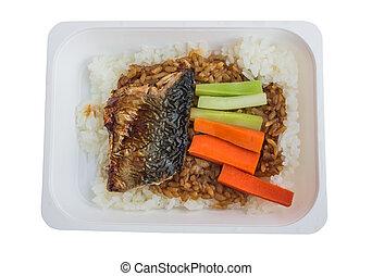 タイ, bento, 詰められた 昼食