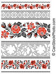 タオル, 刺繍, ウクライナ