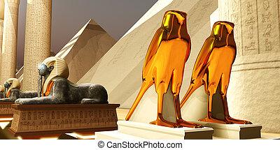 タカ, エジプト人