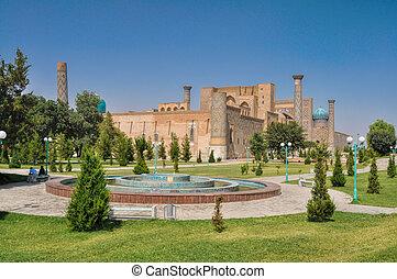 タキマンニスタン, samarkand