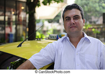 タクシーの 運転者, 肖像画