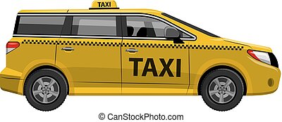 タクシー, 自動車, 自動車, minivan