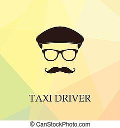 タクシー, icon., 運転手