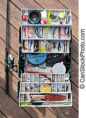 タックルの箱, 釣り具