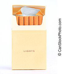 タバコのパック