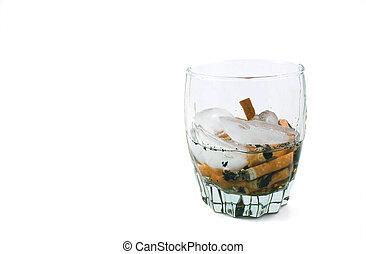 タバコ, ガラス