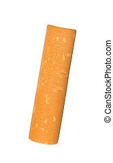 タバコ, フィルター, 隔離された