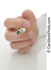 タバコ, マレ, 手を持つ