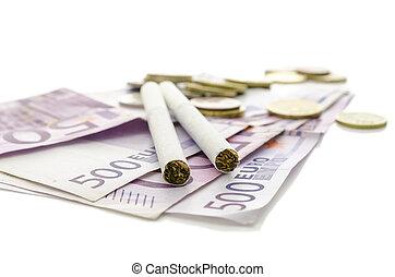 タバコ, 通貨, ヨーロッパ