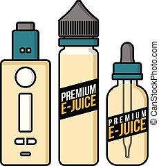 タバコ, 電子, vaporizer