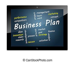 タブレット, ビジネス計画