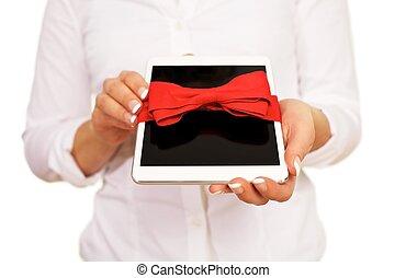 タブレット, 贈り物, デジタル