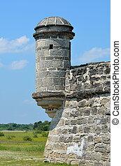 タレット, 城砦, matanzas