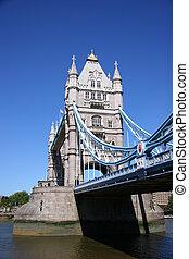 タワー橋, 中に, ロンドン, イギリス