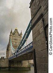 タワー橋, 日, 曇り