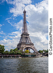 タワー, エッフェル, パリ, フランス