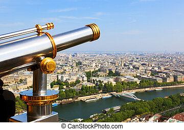タワー, エッフェル, パリ, 光景