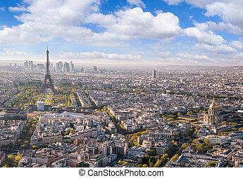 タワー, フランス, パリ, エッフェル, パノラマ
