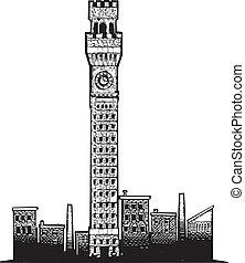 タワー, ボルティモア