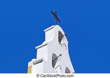 タワー, 古い教会