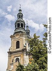 タワー, 教会, franciscans, 鐘