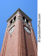 タワー, 時計