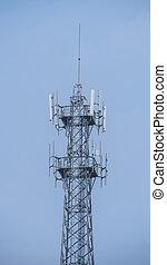 タワー, 遠距離通信