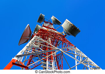 タワー, 電気通信