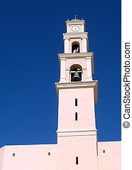 タワー, st., 教会, ピーター, jaffa, 2008