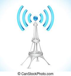 タワー, wi - fi