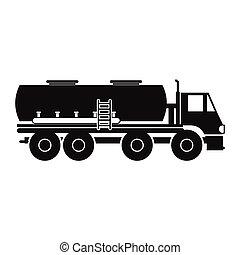 タンクトラック, アイコン, 燃料
