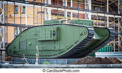 タンク, 装甲