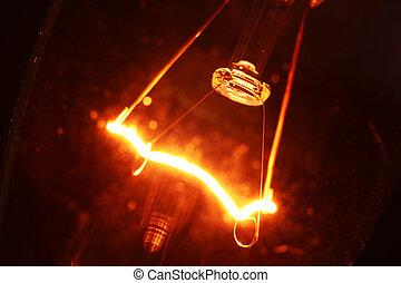 タングステン, 電球