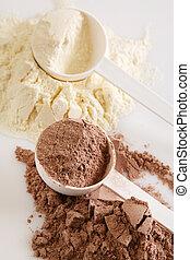 タンパク質, 粉